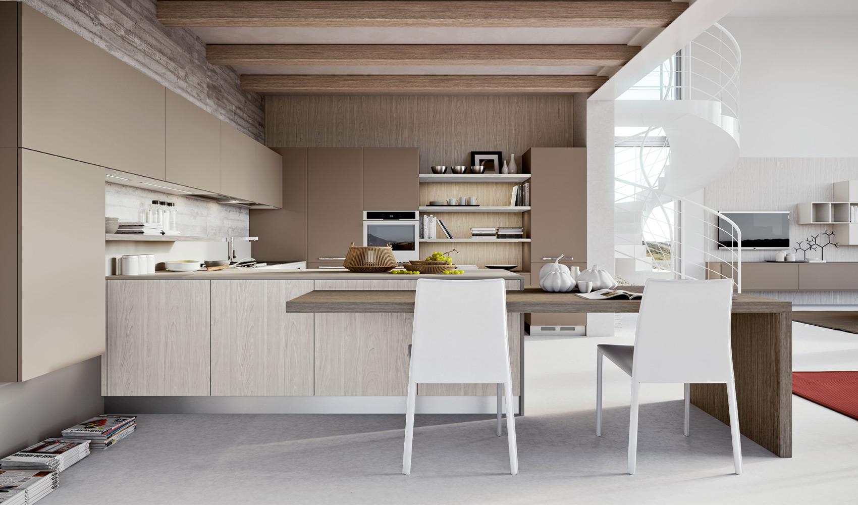 beige modern kitchen images. Black Bedroom Furniture Sets. Home Design Ideas
