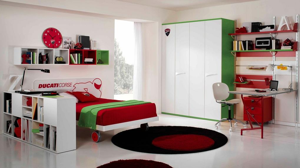 50 Car Themed Bedroom Ideas For Kids Boys Accessories: Modern Kid's Bedroom Design Ideas