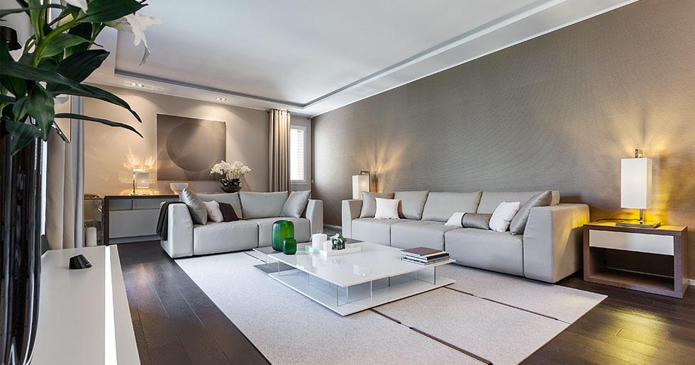 Sophisticated lounge decor   Interior Design Ideas.