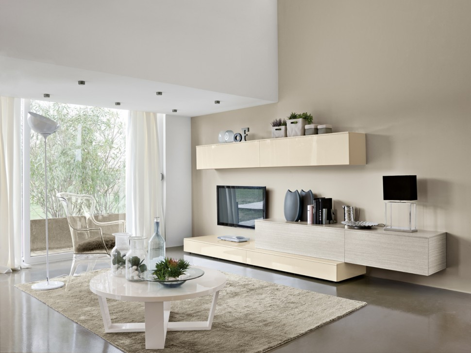 Modern Living Room Wall Units With Storage Inspiration on Wall Units For Living Room Contemporary id=41423