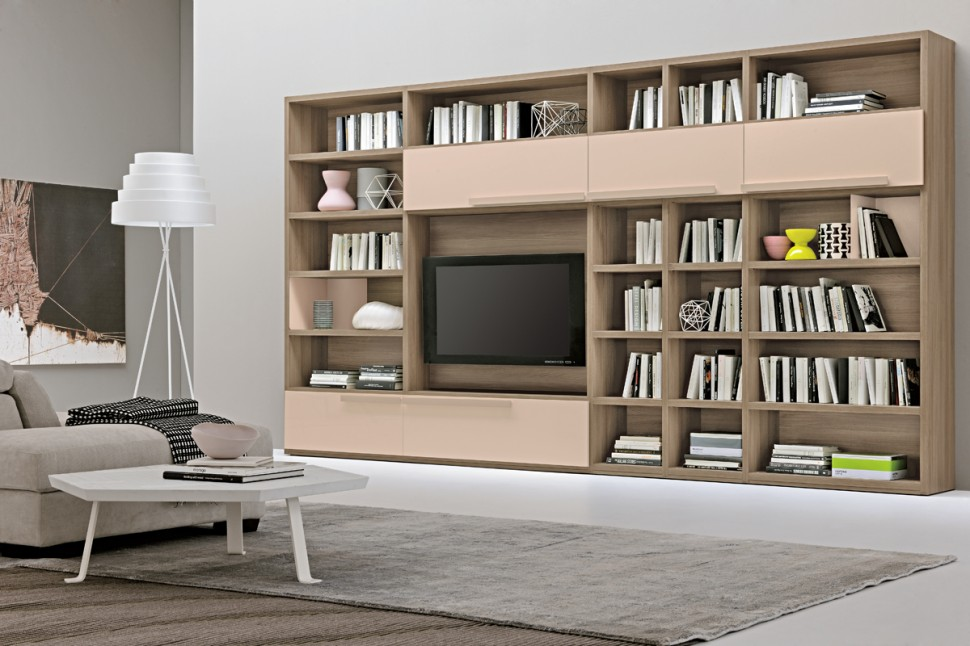 Modern Living Room Wall Units With Storage Inspiration on Wall Units For Living Room Contemporary id=38065
