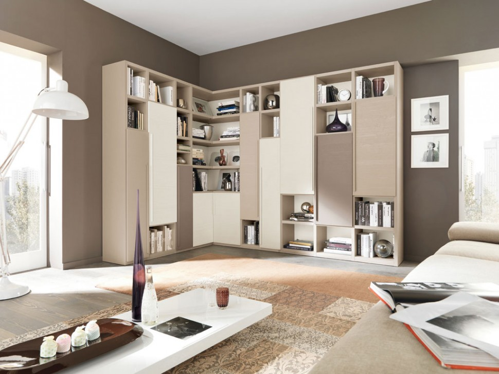 Modern Living Room Wall Units With Storage Inspiration on Wall Units For Living Room Contemporary id=21409