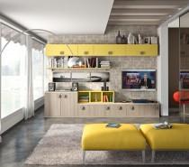 Living Room Bookshelves 64
