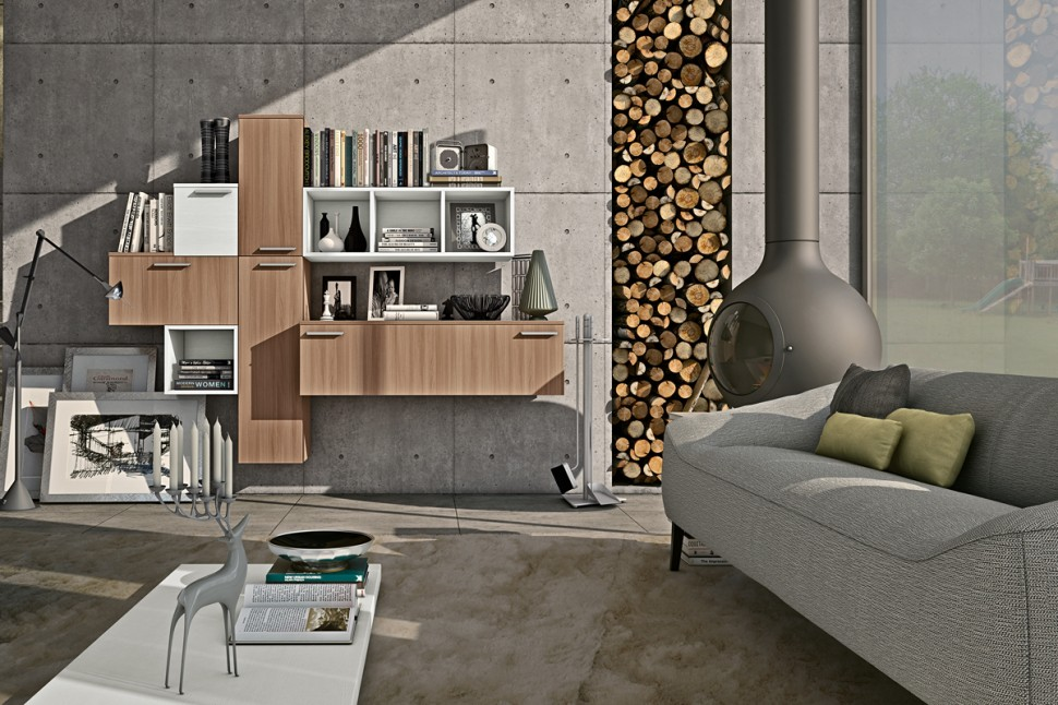 Modern Living Room Wall Units With Storage Inspiration on Wall Units For Living Room Contemporary id=77033