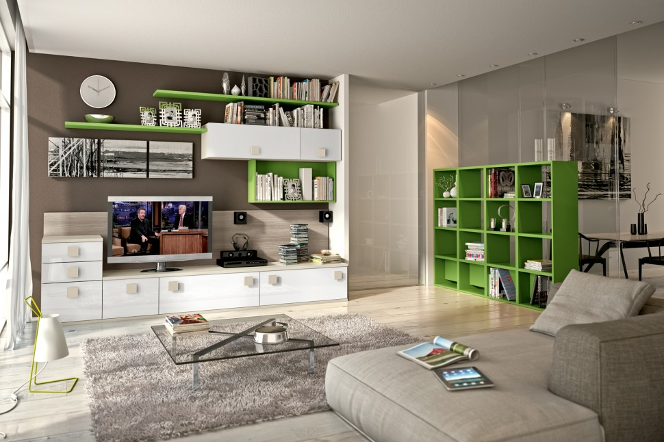 Modern Living Room Wall Units With Storage Inspiration on Wall Units For Living Room Contemporary id=46823