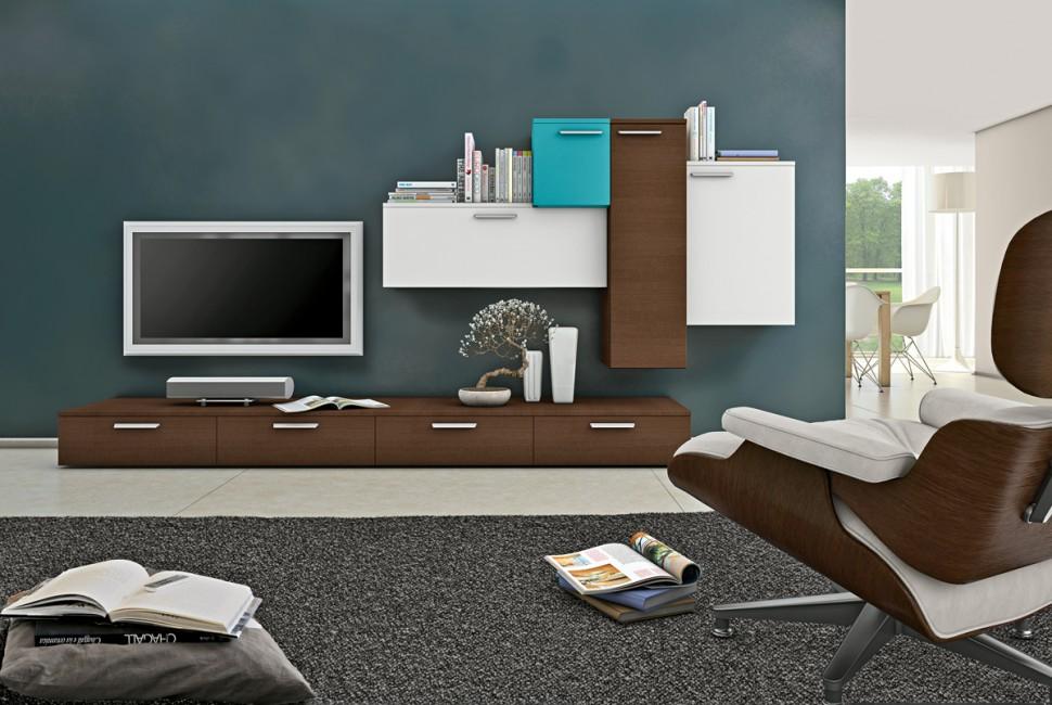 Living room bookshelves tv cabinets 5 interior design - Living room tv cabinet interior design ...