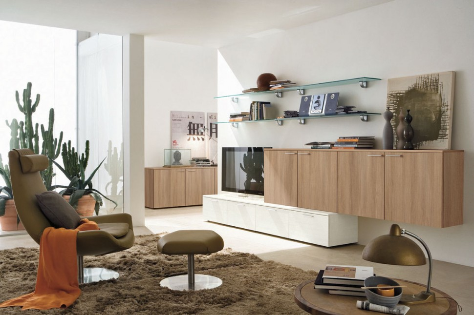 Modern Living Room Wall Units With Storage Inspiration on Wall Units For Living Room Contemporary id=29145