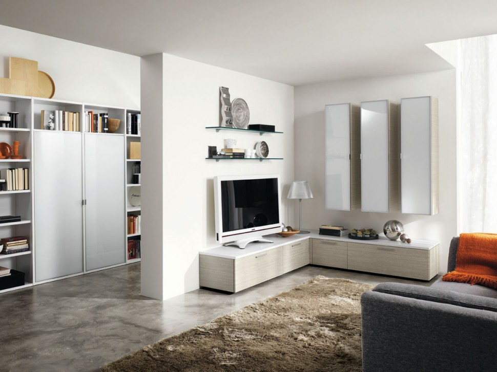 Modern Living Room Wall Units With Storage Inspiration on Wall Units For Living Room Contemporary id=58625