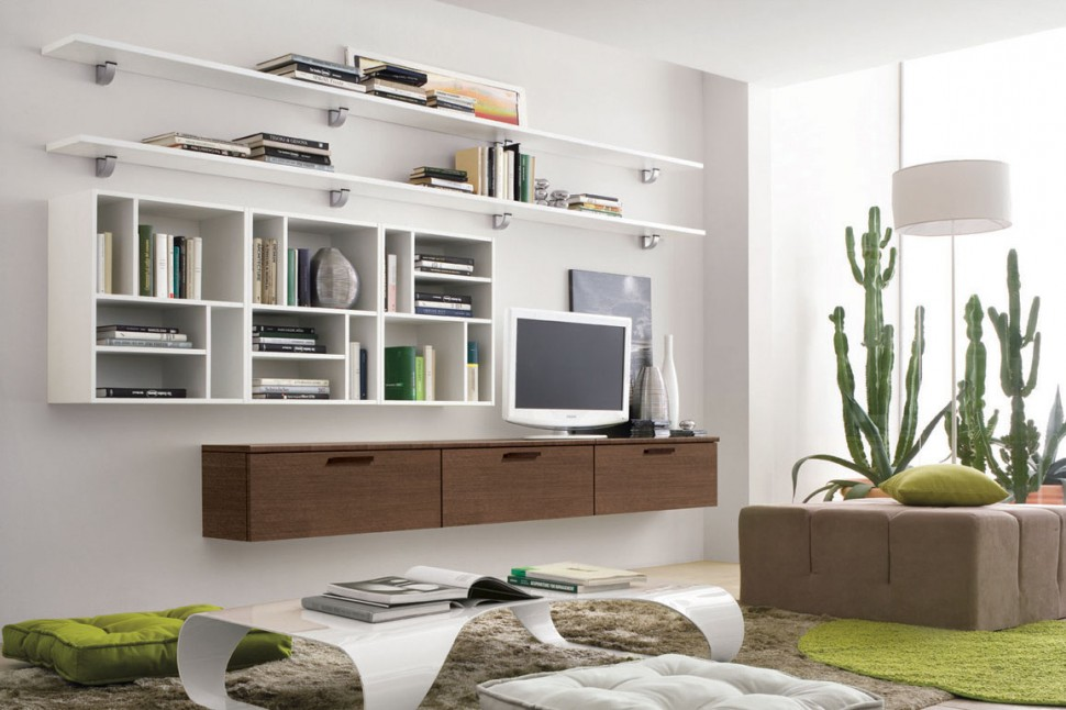 Modern Living Room Wall Units With Storage Inspiration on Wall Units For Living Room Contemporary id=96976
