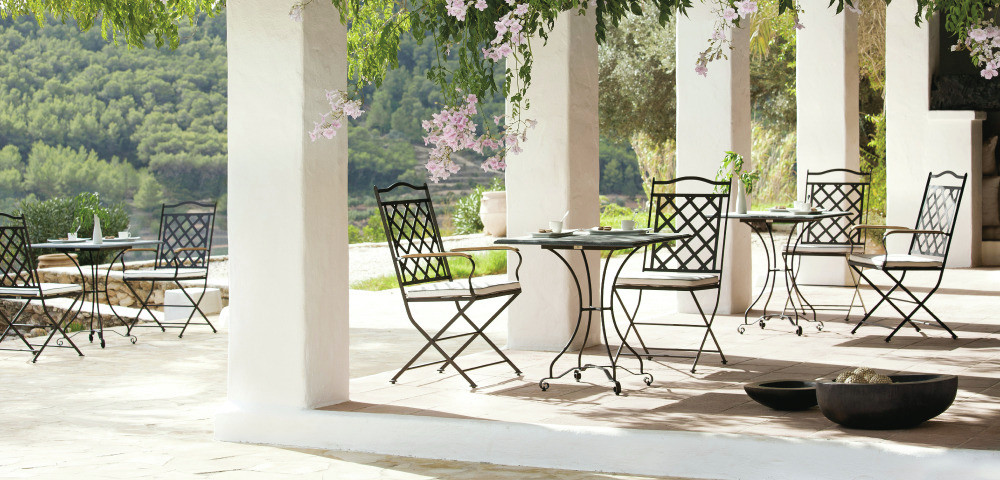 Black Wrought Iron Outdoor Furniture