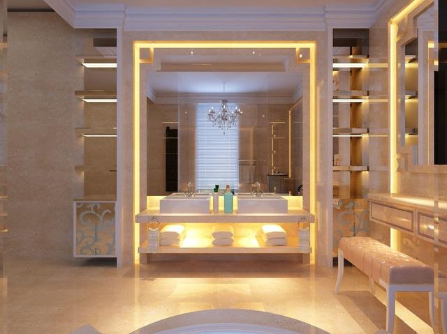 Mason Jar Bathroom Storage Shelves