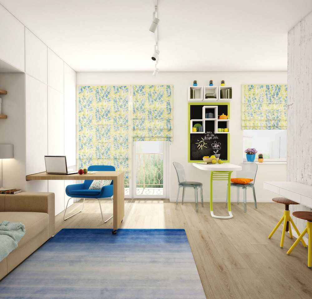 Apartments In My Area: A Super Small Apartment Design With Floor Plan