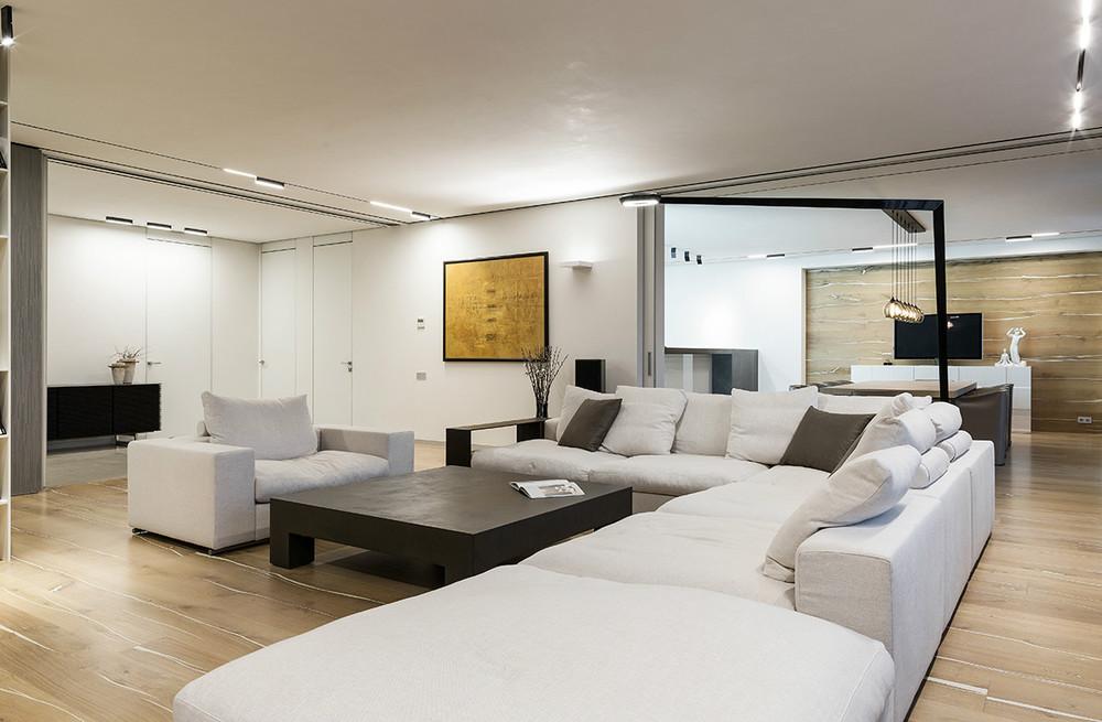 Taupe Cream L Shaped Sofa Interior Design Ideas