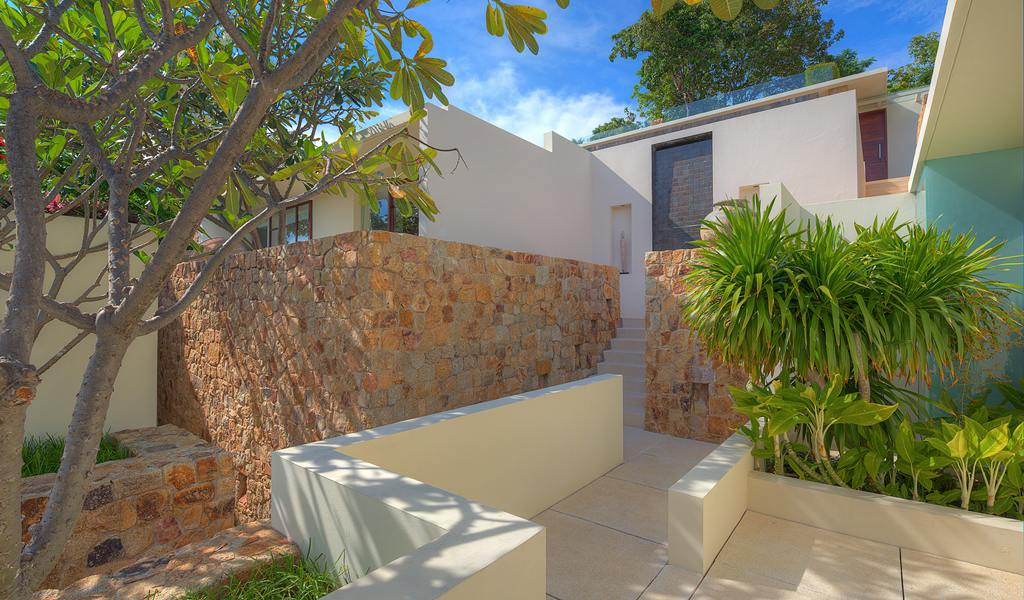 Home exterior design crisp asian villa design