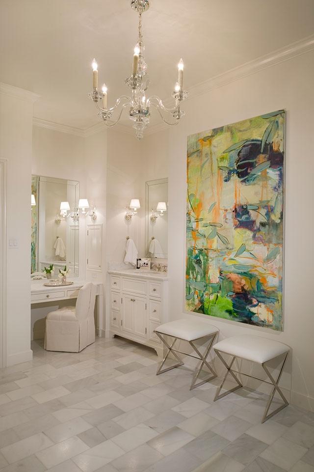 Bathroom Chandelier Interior Design