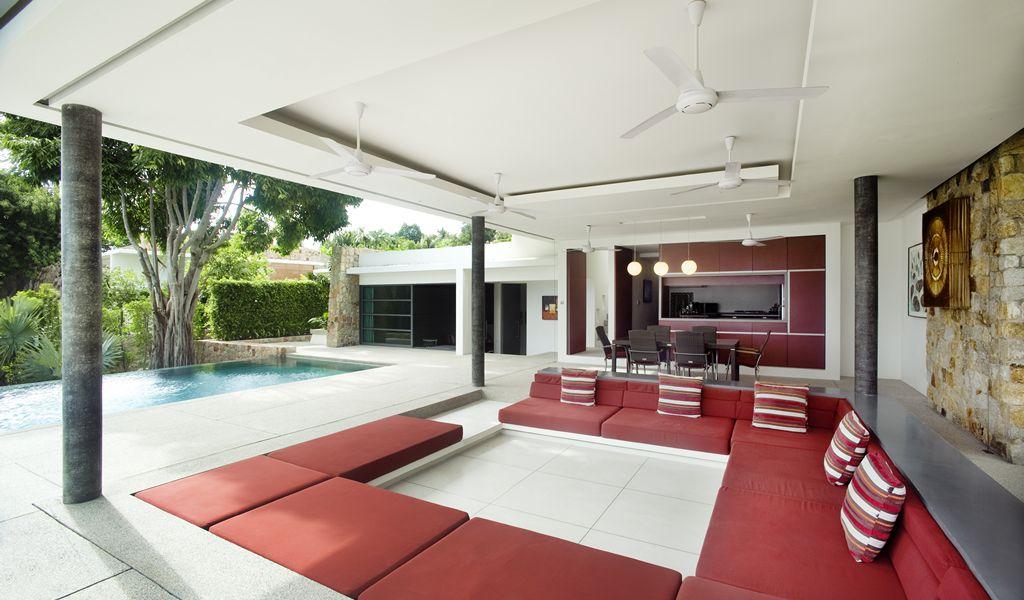 Red Living Room Decorinterior Design Ideas