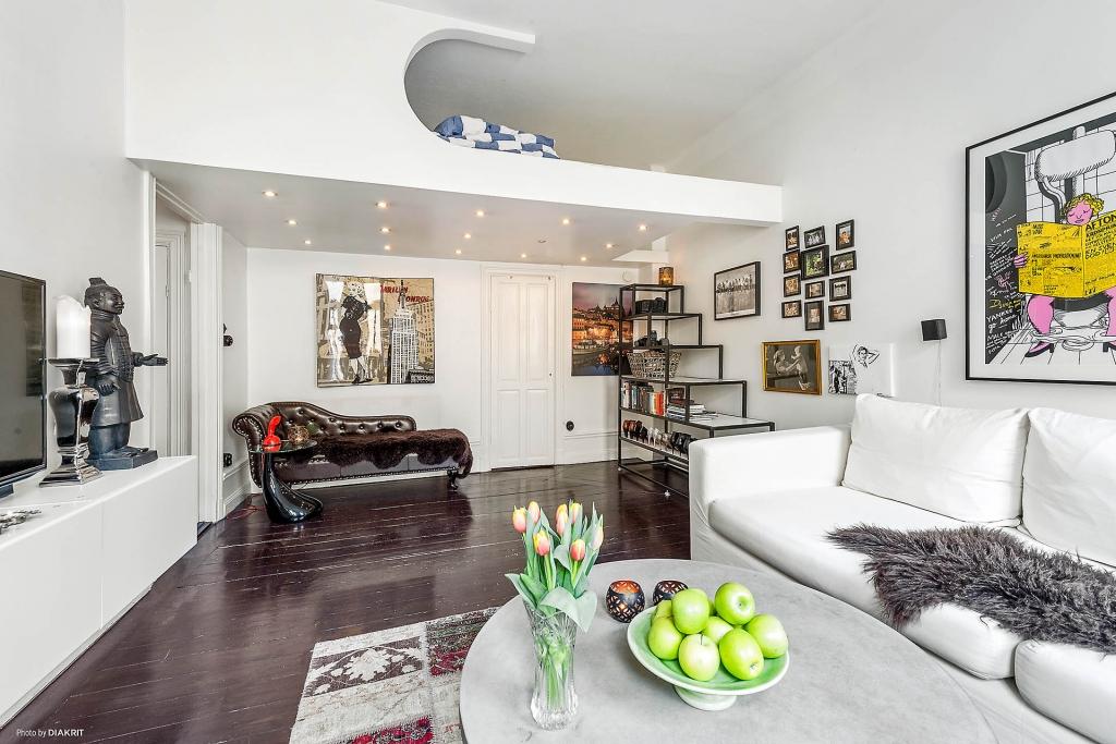 living room mezzanine interior design ideas