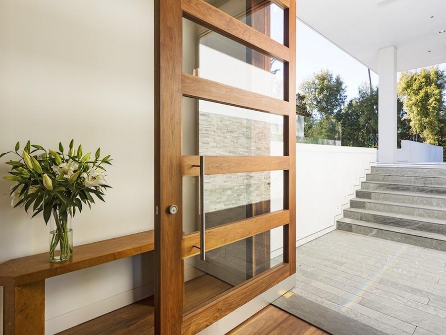 Modern entryway interior design ideas - Modern interior doors los angeles ...