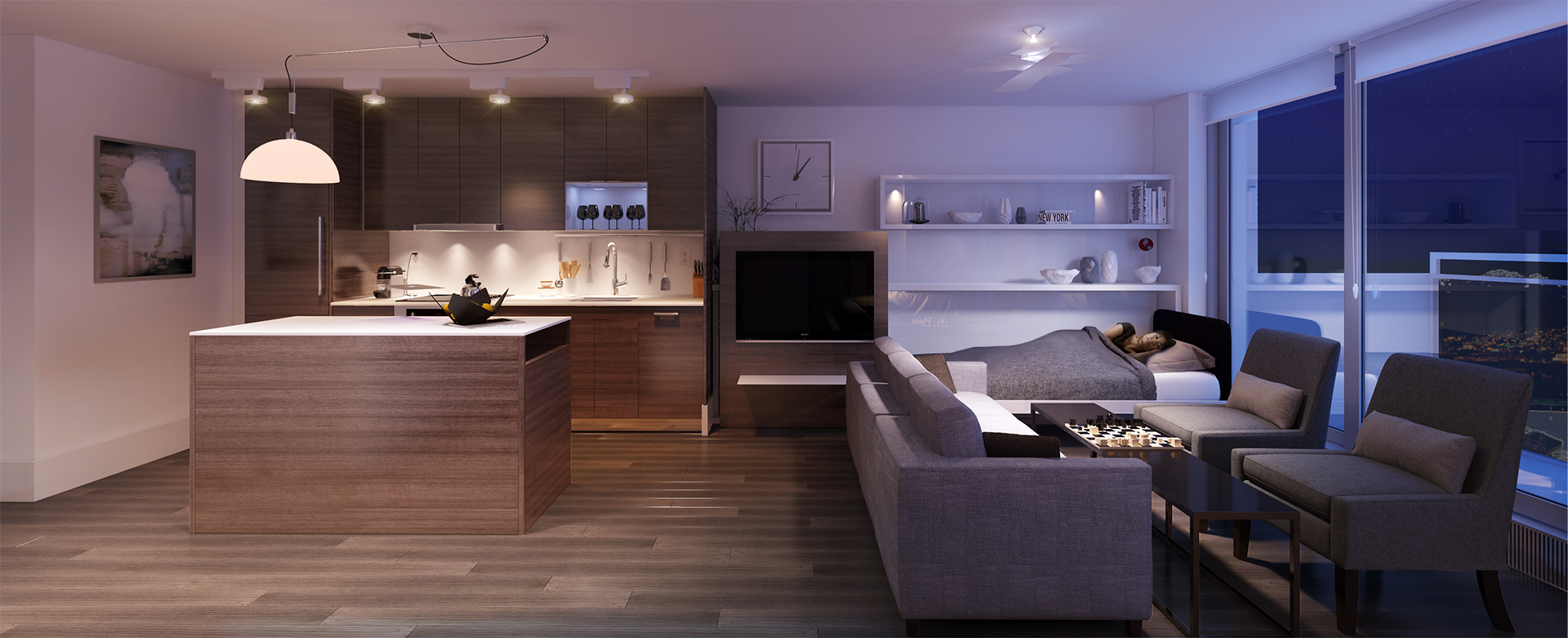 Pullout Sofa Bed Interior Design Ideas