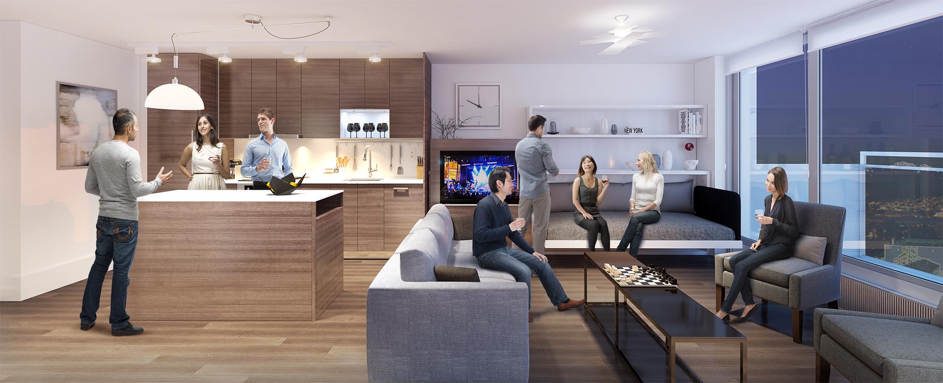 Pullout Sofa Interior Design Ideas
