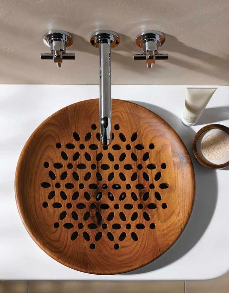 wood bathroom sink 30 extraordinary sinks that you will not find in an 15206