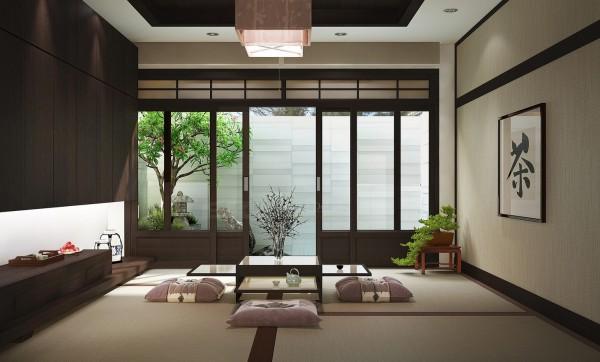 Zen Inspired bedroom 1
