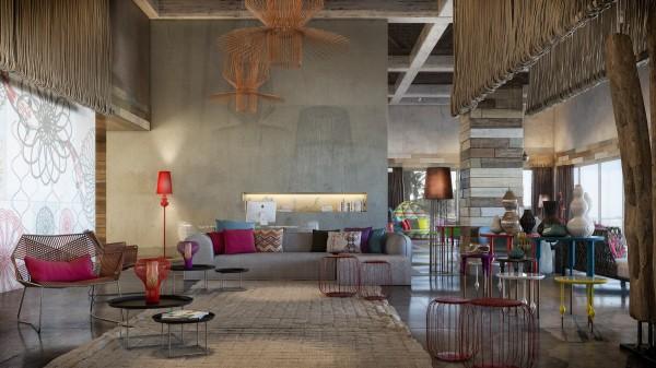 Colorful Exuberant Interior Design Inspiration From W