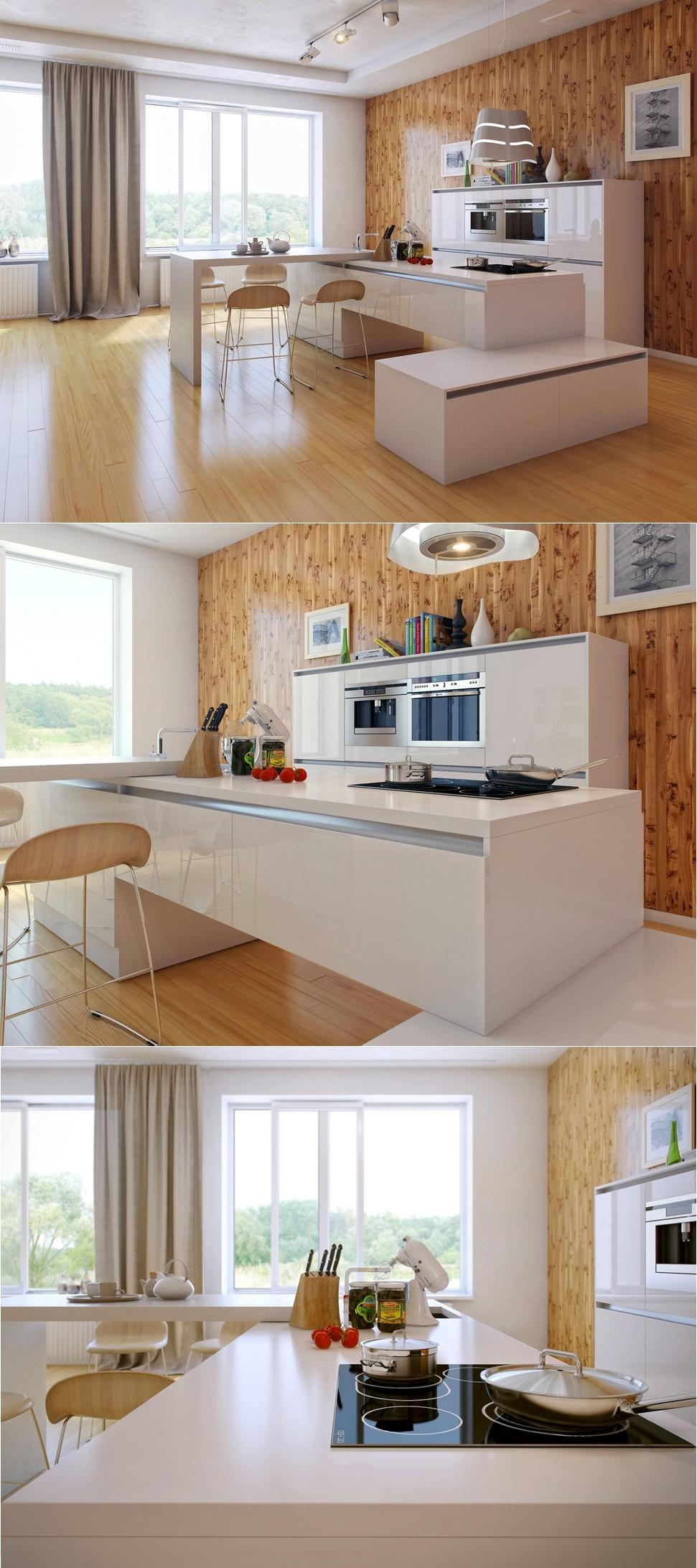 25 unique kitchen countertops - Kitchen countertop designs photos ...