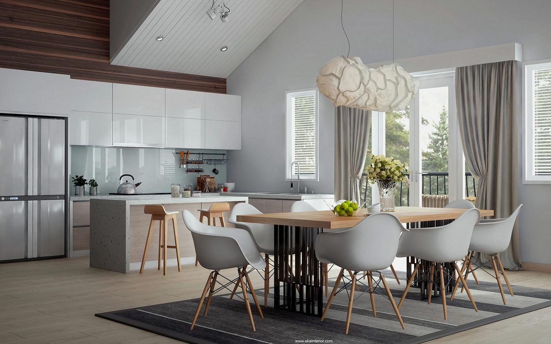 Designing Open Plan Kitchen