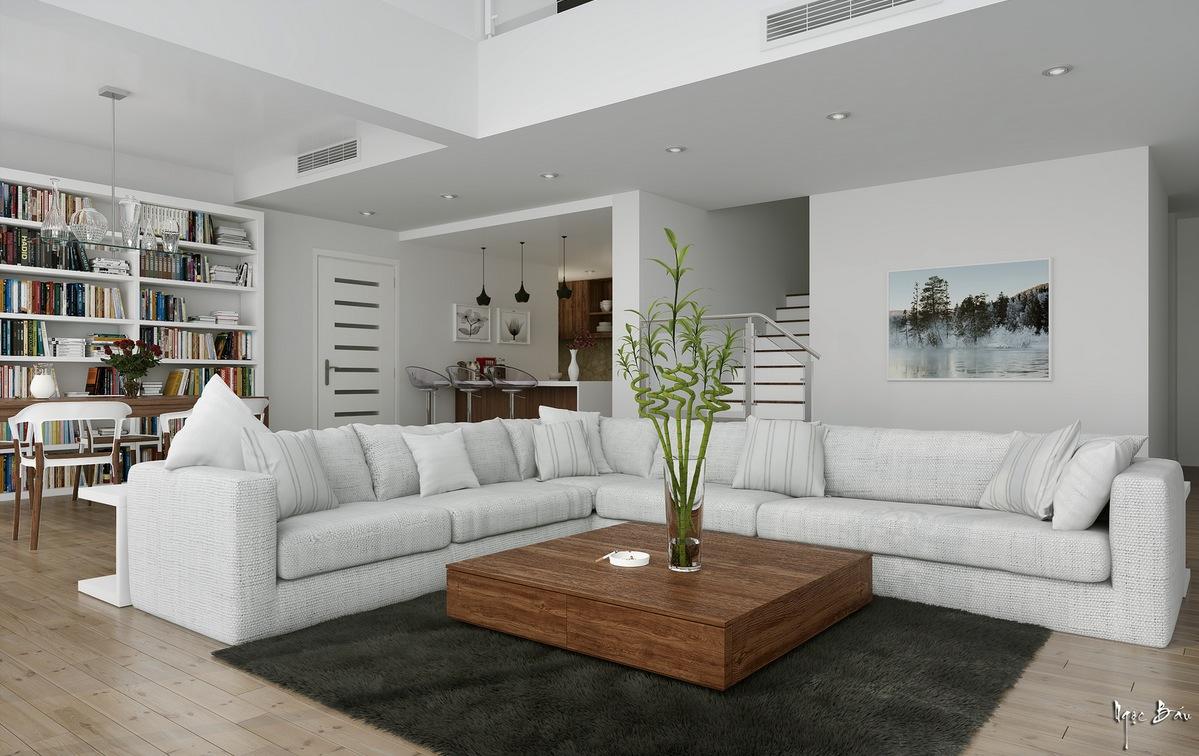 15 white l shaped sofa