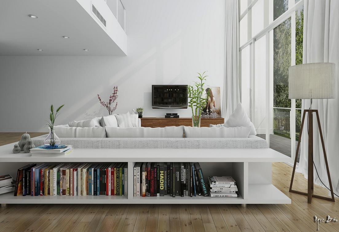 low bookcase interior design ideas. Black Bedroom Furniture Sets. Home Design Ideas