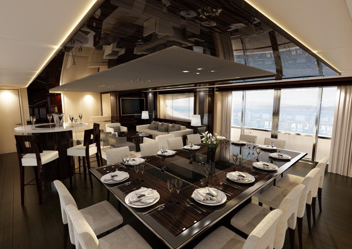 29 Luxurius Improving: Luxury Yacht Interior Design