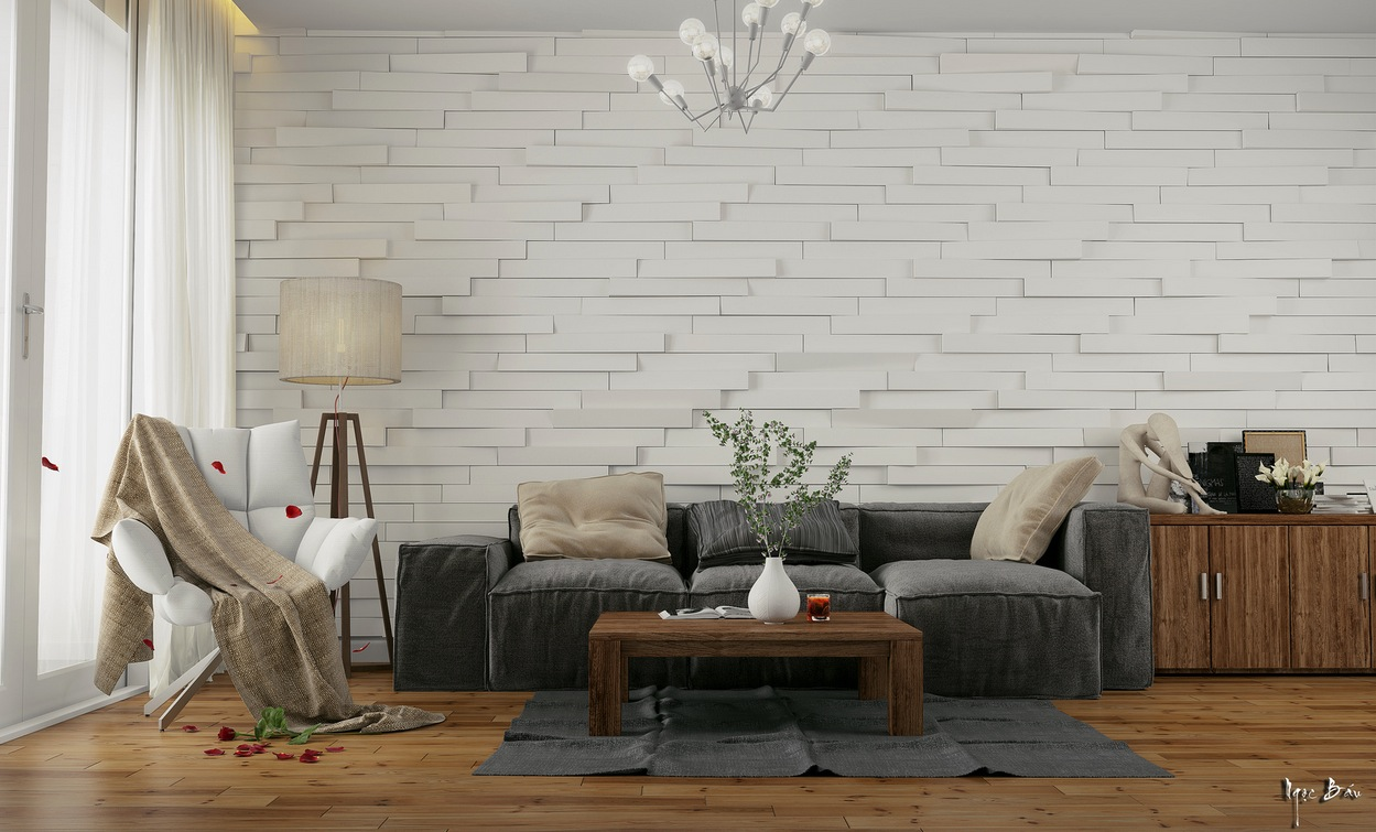 Interiors with natural and rustic accents - Rustic contemporary living room designs ...