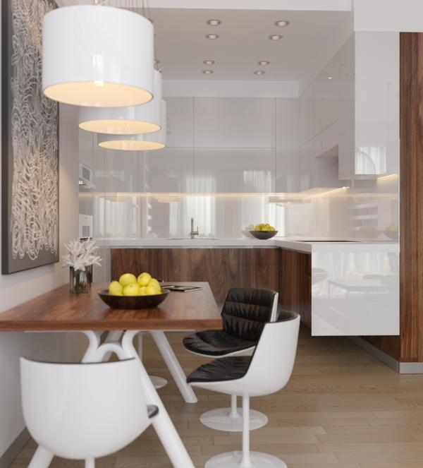 Small Apartment Decorating And Interior Design Ideas: Crisp Comfortable Apartment Designs