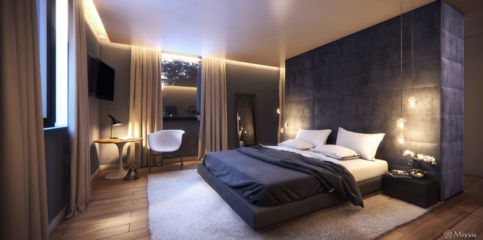 20 Modern Bedroom Designs - ^