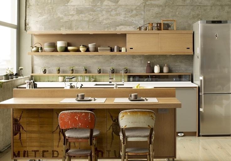 Zen Kitchen Interior Design Ideas