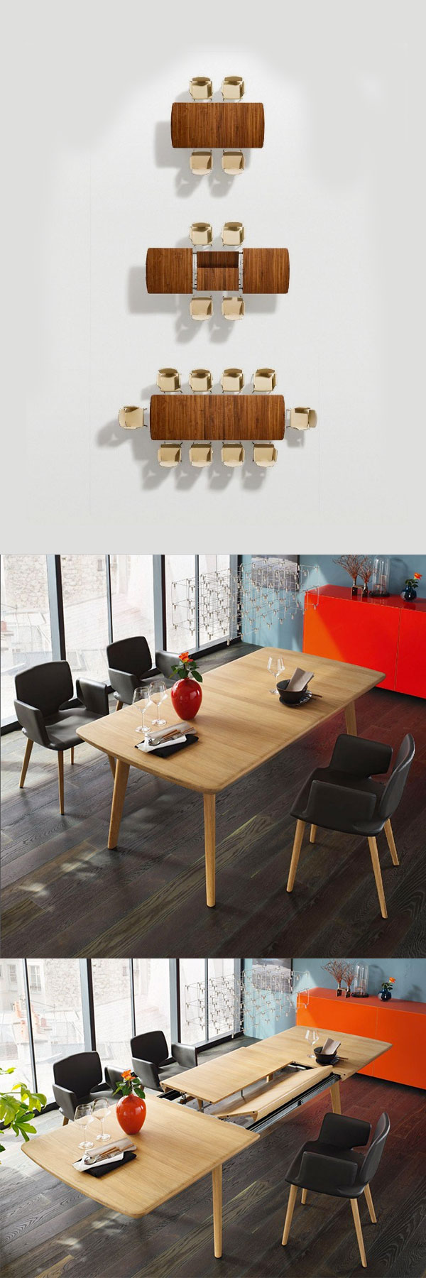 & 30 Extendable Dining Tables
