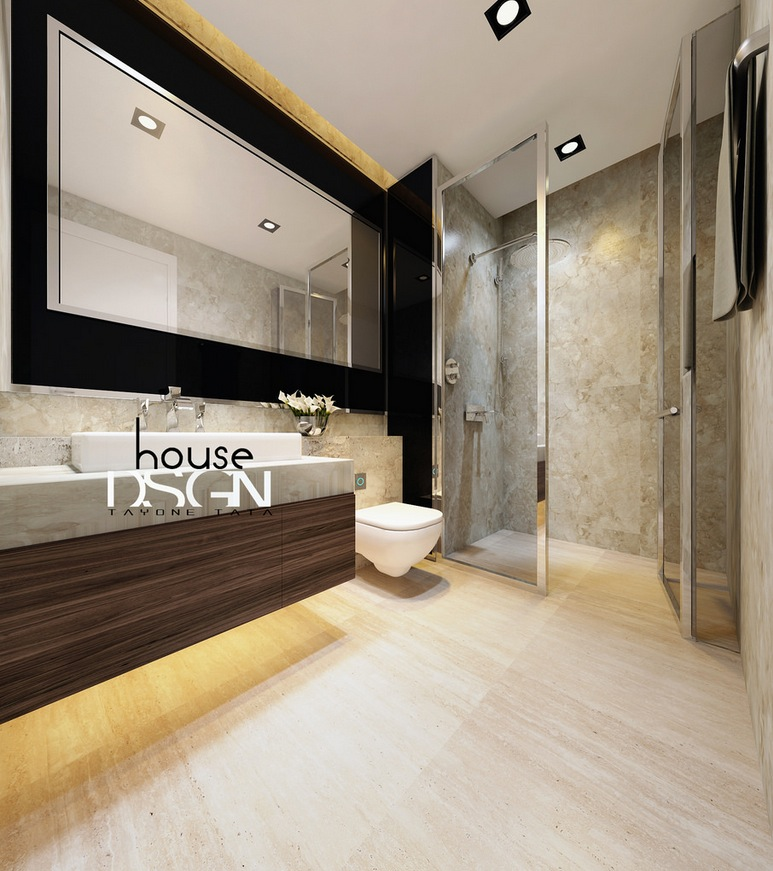 bathroom design modern inspiring house | Inspirational Interior Ideas From Bauhaus Architects ...