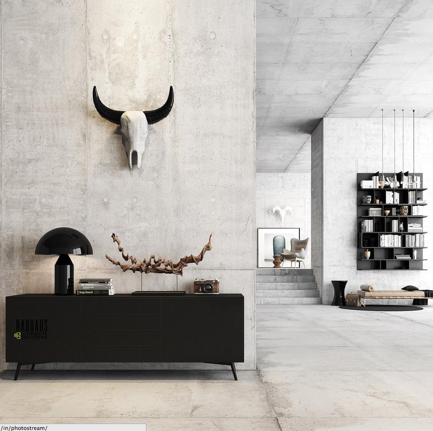 Masculine Home Office Decor