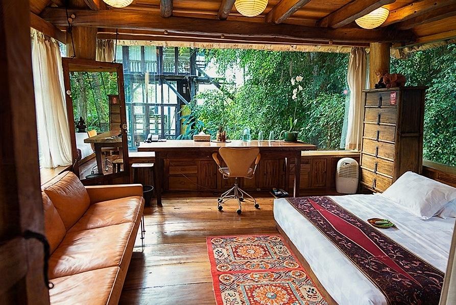 6 Peaceful Greenery Office Interior Design Ideas