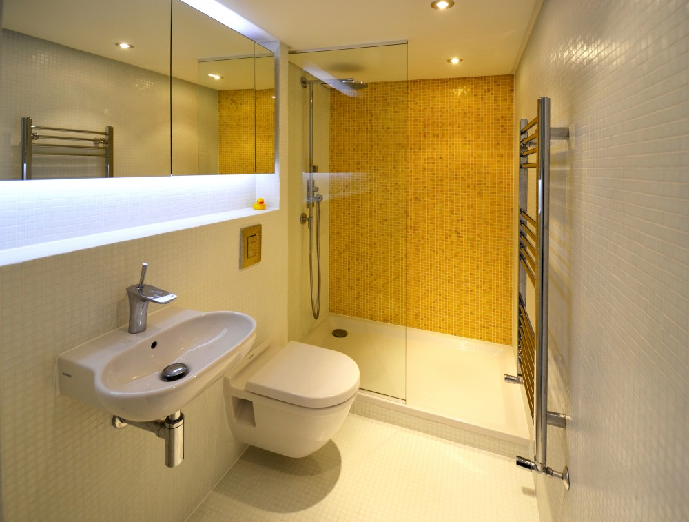 Bathroom Space Planning: Beautiful Loft Design: A Solution To Space Shortage