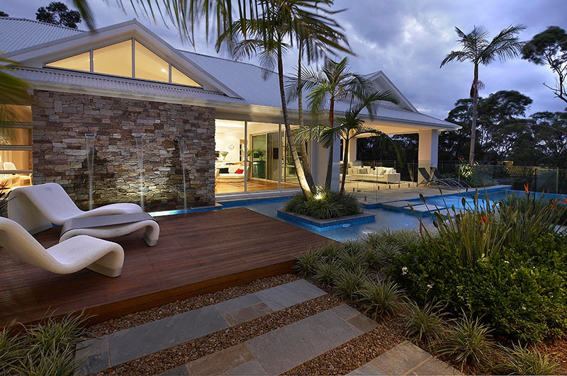 Modern Landscape Design Ideas From Rollingstone Landscapes on Contemporary Backyard Landscaping Ideas id=94026