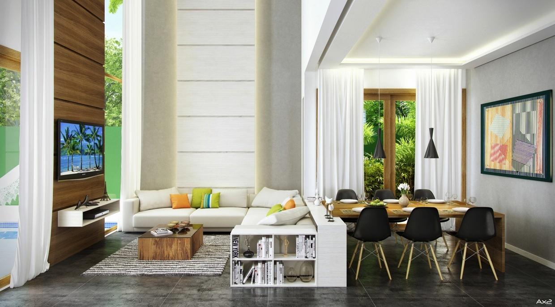 Swing Arm Wall Lamp Living Room