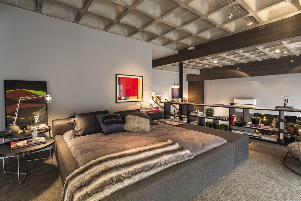 Open Concept Bedroom