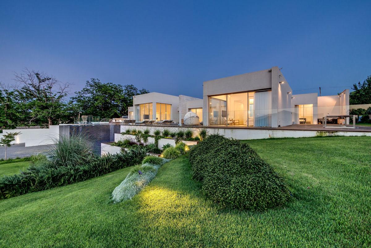 Hillside Floor Plans Modern Luxury Villas Designed By Gal Marom Architects