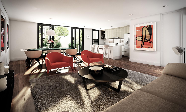 studio apartment interiors inspiration. Black Bedroom Furniture Sets. Home Design Ideas