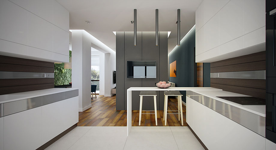 Avant Garde Apartments Feature The Latest Lines And