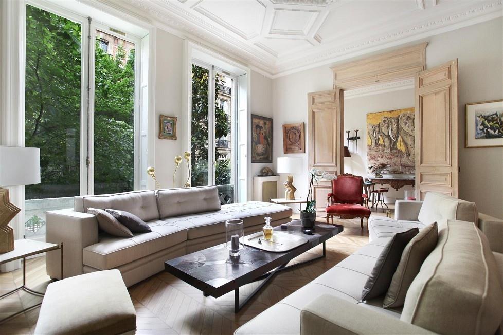 Classic French Living Interior Design Ideas