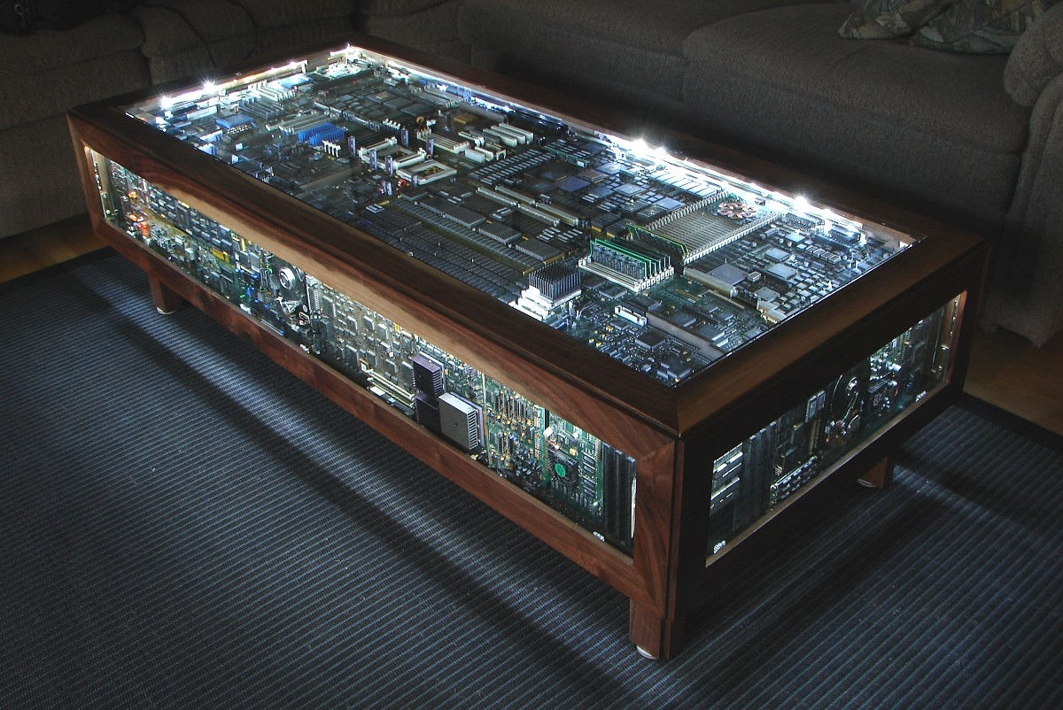 20 uniquely beautiful coffee tables Custom Built Coffee Tables
