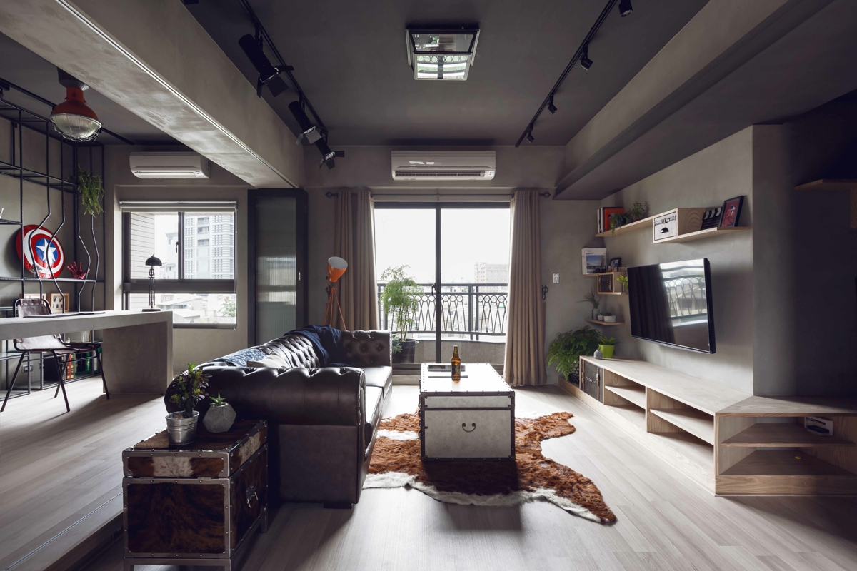 Cool Urban Apartment